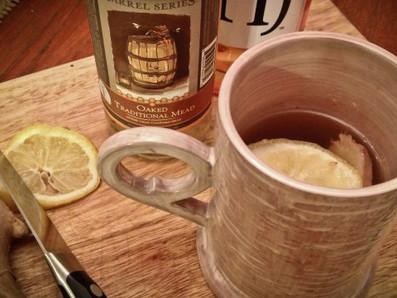 Um drink quente para o frio