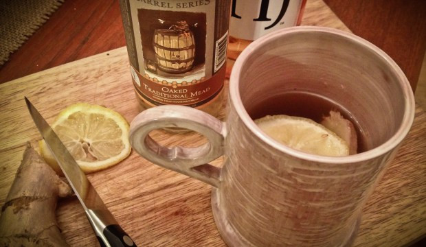 drink quente com hidromel