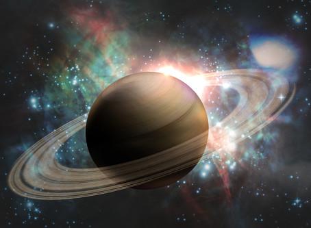 Saturne a repris sa marche directe. Ouf !!!  Mais rencontre le Nœud  Sud