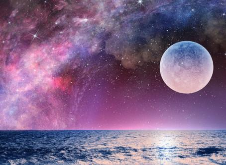 Peine Lune du 8 avril 2020                        Se Raidir ou S 'Unifier