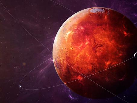 La Planète Mars en Taureau du 6 Janvier au 4 mars 2021. Un passage miné, sous haute tension !!!