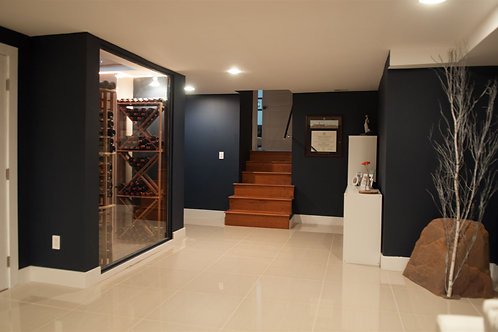 Complete Wine Cellar Install: Starting at