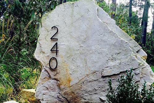 House Number Signage/ Boulder: Starting at