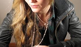 Vintage Pearls Boho hipster trendy modern