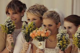 Vintage Pearls Wedding Marriage Bridesmaids