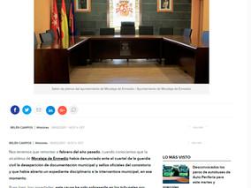 """Sobreseída la causa por """"robo de documentos"""" en el ayuntamiento de Moraleja de Enmedio"""