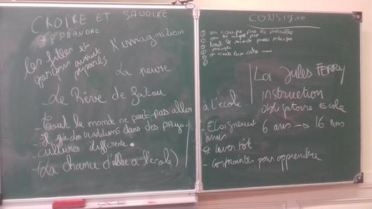 atelier philoscène enfants babdp Collège Morvan 2018
