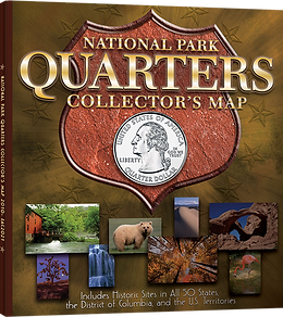 State Quarters Collection Map