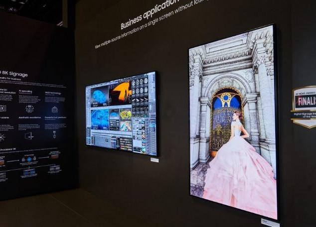 #8. Samsung: QLED 8K Displays
