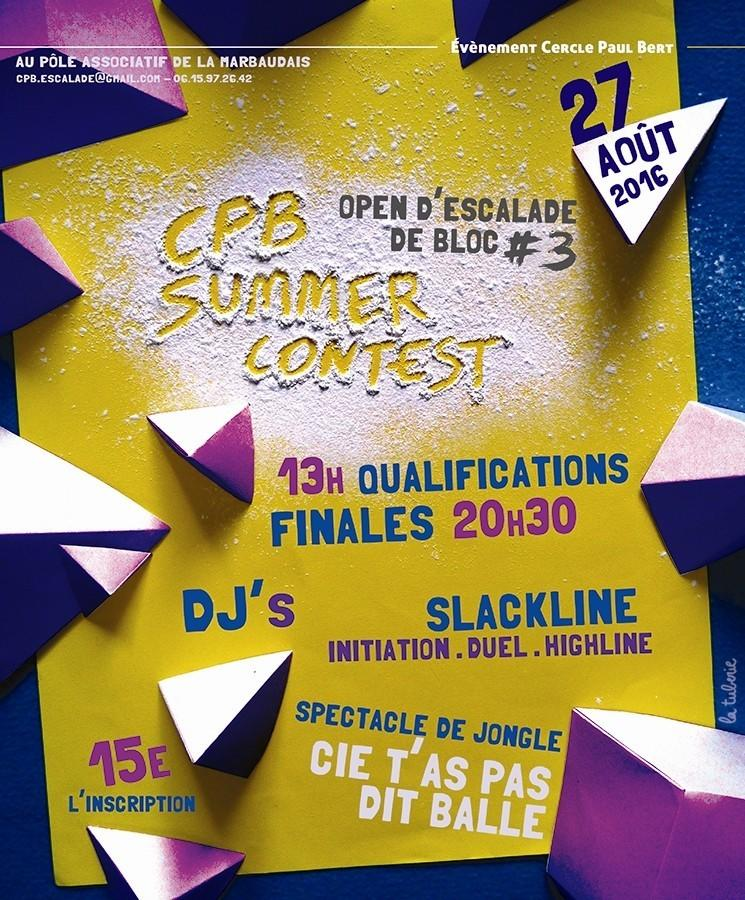 Cpb Summer Contest Open 2016
