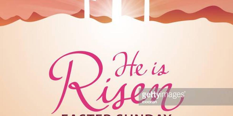 RESURRECTION SUNDAY REGISTRATION 10 AM SERVICE ONLY