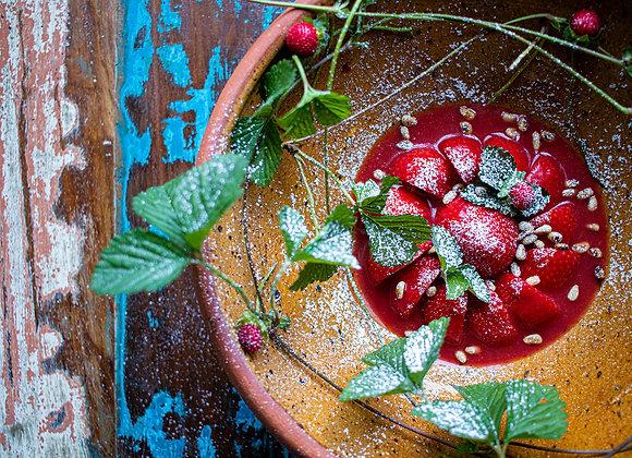 Warme Aardbeien