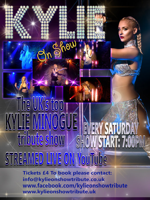 kylie on show kylie minogue tribute live