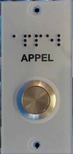 Bouton PMR BP00.09 - Appel Porte etc