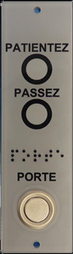 PORT.52 - Platine d'appel PMR