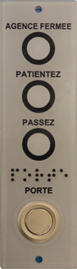 PORT.51 - Platine d'appel PMR