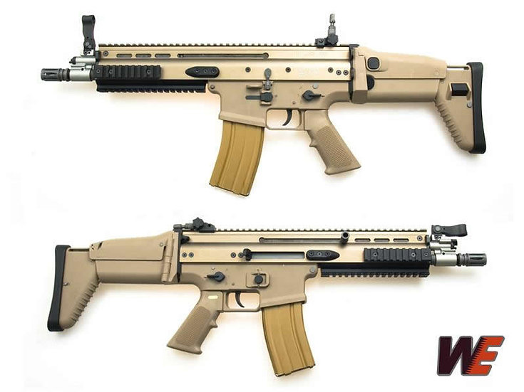 WE FN SCAR Series Airsoft GBB rifle