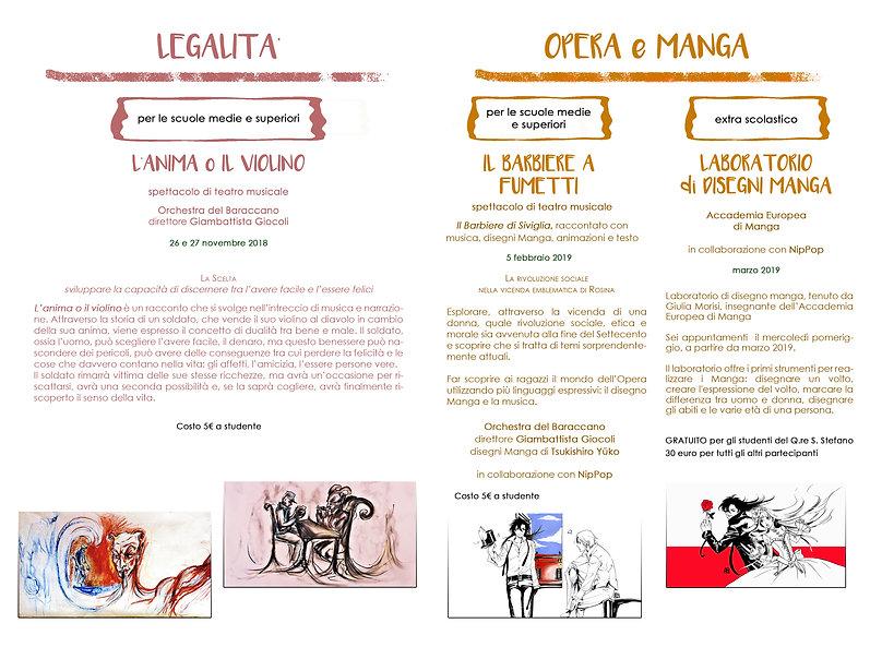 Progetto Scuole 2018-2019, INTERNO senza