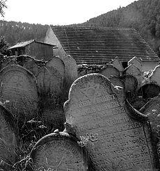 Boemia occidentale - cimitero ebraico ab