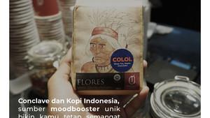 Conclave dan Kopi Indonesia, sumber moodbooster unik bikin kamu tetap semangat kerja