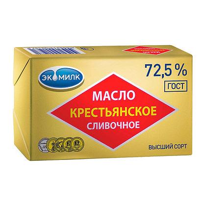 """Масло сливочное """"Крестьянское"""" 500 гр"""
