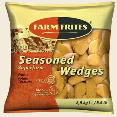 Картофель фри заморожен. (дольки) 2,5 кг