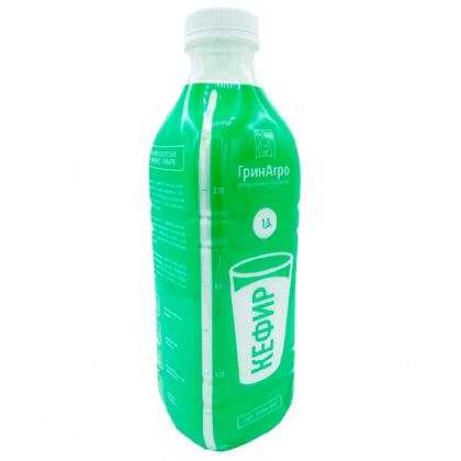 Кефир 0,1 % пластик 1 л.