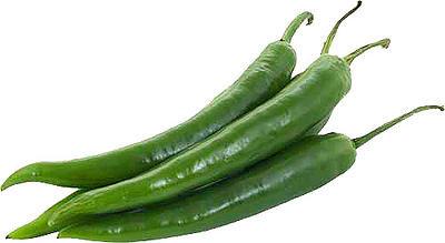 Перец острый зелёный 1 кг.