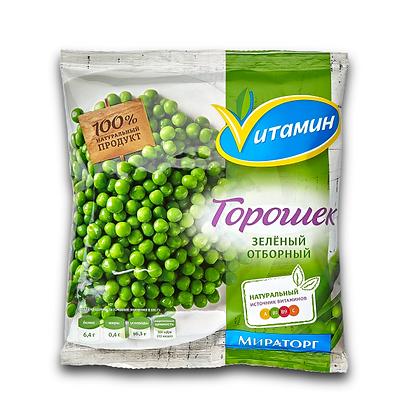 Горошек зеленый с/м 400 гр.