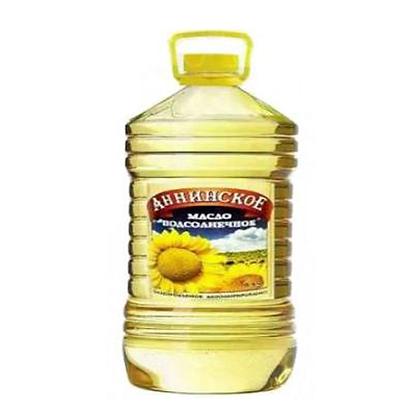 Масло подсолнечное рафинированное  Анинское 5л.