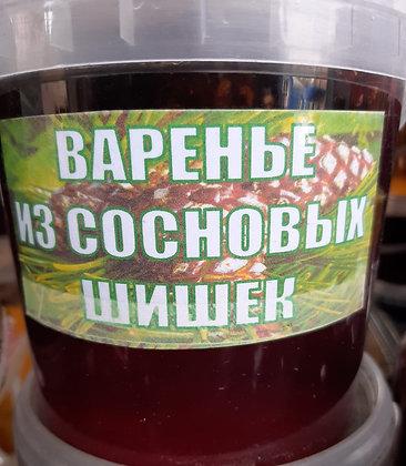 Варенье из сосновых шишек 500мл.