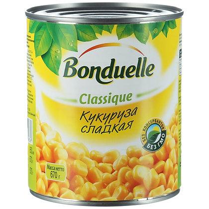 "Кукуруза  сладкая ""Bonduelle"" ж/б 340 гр."