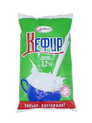 """Кефир 3,2%  """"Лазовский"""" 1 л. м/у"""