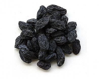 Изюм чёрный 1 кг.