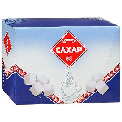 Сахар белый кусковой прессованный быстрорастворимый У самовара  1 кг