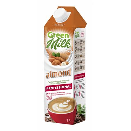 "Green milk Рисовый напиток  ""Миндаль"" 1,5% 1л."