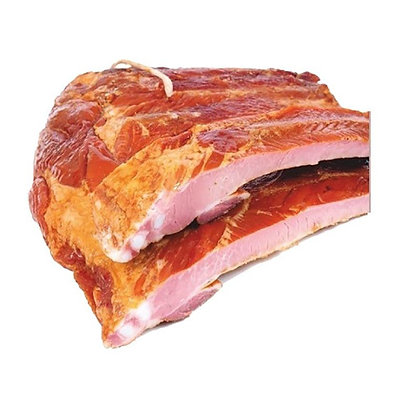 Свиные ребра варено-копченые Ратимир В\У 1кг.