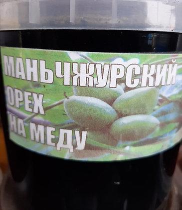 Маньчжурский орех на меду 500мл.