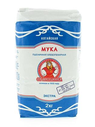 """Мука пшеничная """"От Мельника"""" в/с 2 кг."""