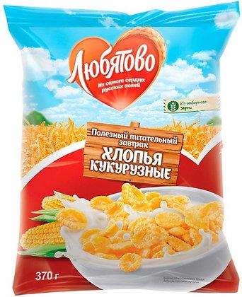 "Кукурузные хлопья ""Любятово"" 300 гр."