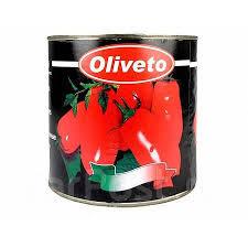 Томаты целые очищеные 2,5кг ж/б Oliveto