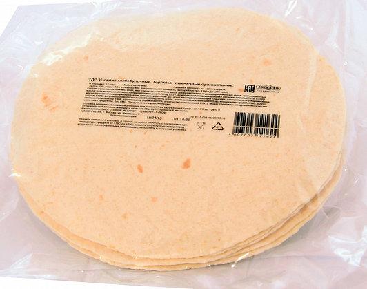 Тортилья пшеничная 10-дюйм. (25 см) 12 штук