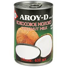 Молоко кокосовое AROY ж/б 400 мл/шт