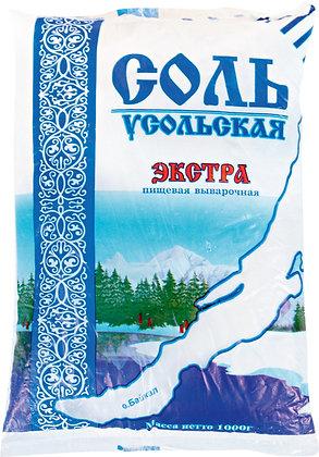 Соль пищевая Экстра 1 кг.