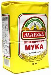 "Мука пшеничная ""Макфа"" 2 кг"