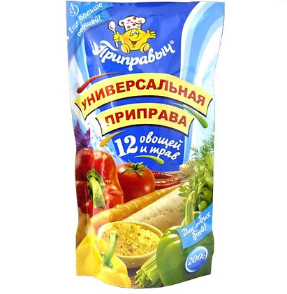 "Приправа ""12 трав и овощей"" 200 гр"