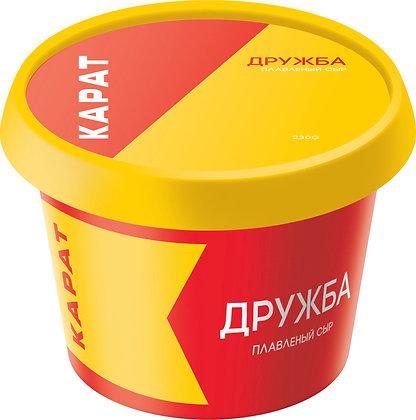 "Сыр плавленный ""Дружба"" (Карат) 230 г"