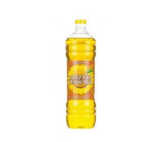 """Масло подсолнечное нерафинированное  """"Золотая семечка"""" 1л"""
