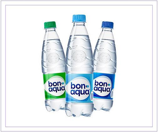 """Вода """"Бон Аква"""" негазированная 1 л."""