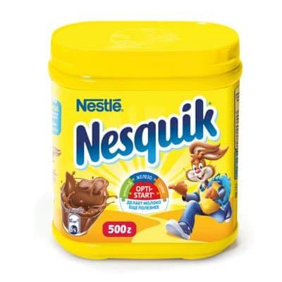 """Какао порошок """"Несквик"""" 0,25 кг."""